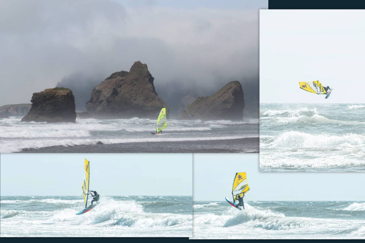 Windsurfen in Oregon